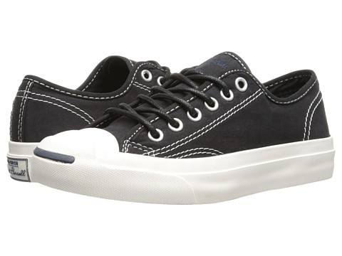 Converse - Jack Purcell Seasonal Color (Black) Shoes