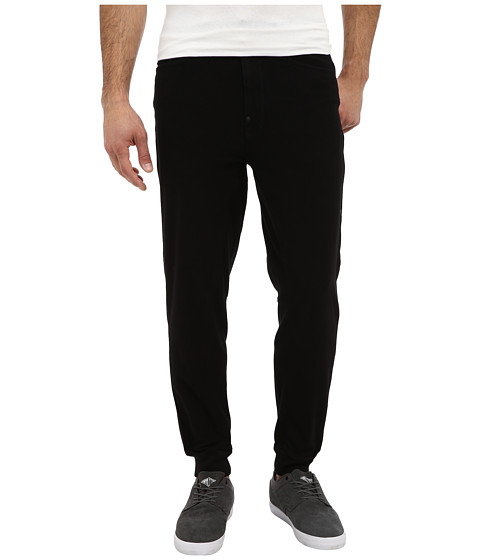 G-Star - A-Crotch Tapered Sweatpant in Leeds Sweat Black (Black) Men
