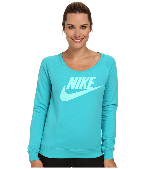 Nike - Rally Crew (Dusty Cactus/Bleached Turquoise) Women