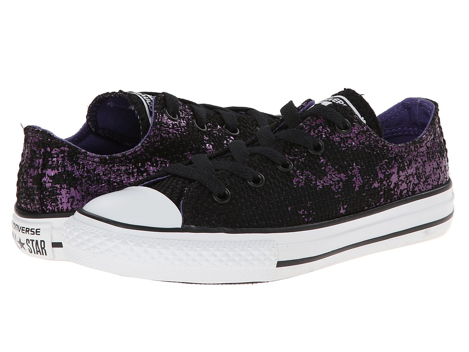 Converse Kids - Chuck Taylor All Star Ox (Little Kid/Big Kid) (Hollyhock) Girls Shoes
