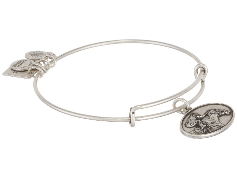 Alex and Ani - Racehorse Charm Bangle (Rafaelian Silver Finish) Bracelet