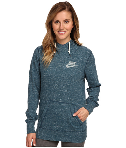 Nike - Gym Vintage Hoodie (Space Blue/Sail) Women's Sweatshirt