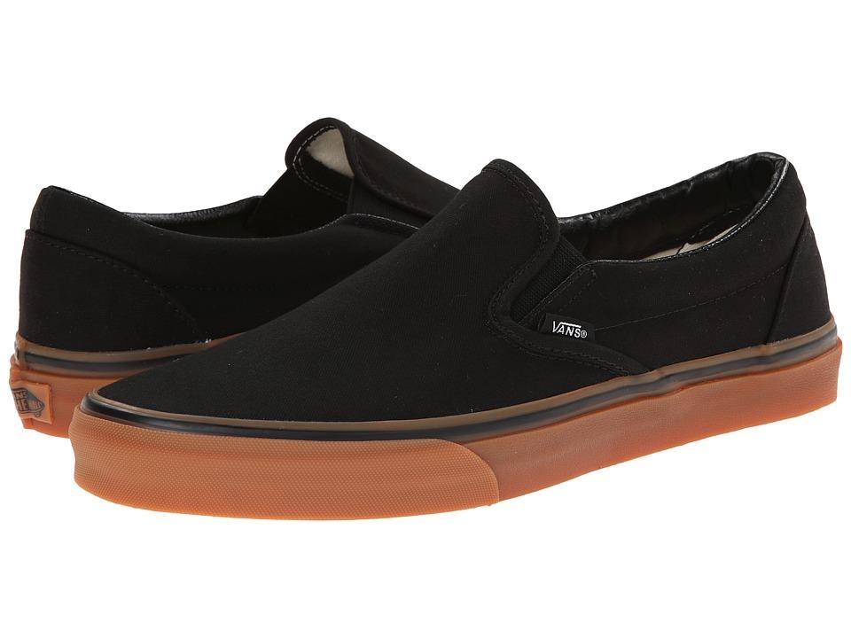 Vans - Classic Slip-On ((Gumsole) Black/Classic Gum) Skate Shoes