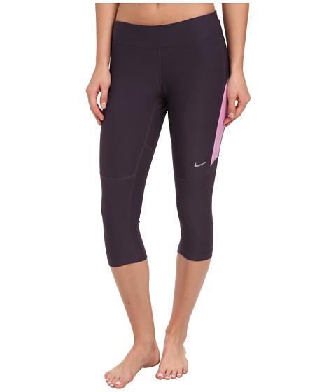 Nike - Filament Capri (Cave Purple/Light Magenta/Light Magenta/Matte Silver) Women's Capri