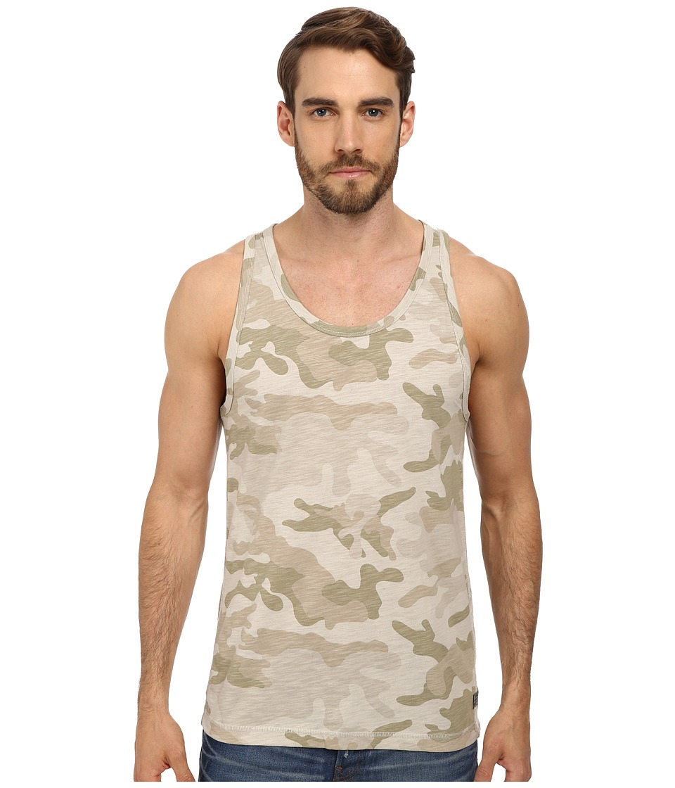 G-Star - Ainsdock Camo R Tank Top (Dark Concrete) Men's T Shirt