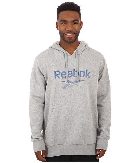 Reebok - Fleece Hoodie (Medium Grey Heather) Men's Fleece