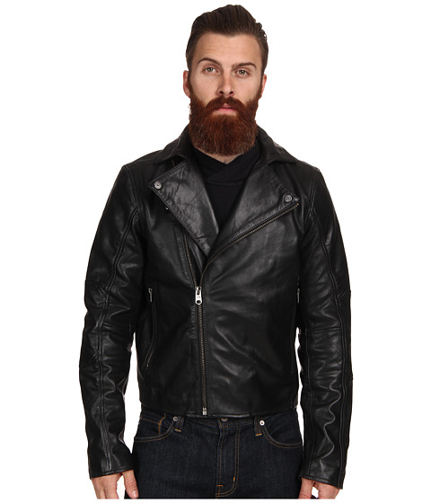 G-Star - Camcord Perfecto Leather Jacket (Black) Men