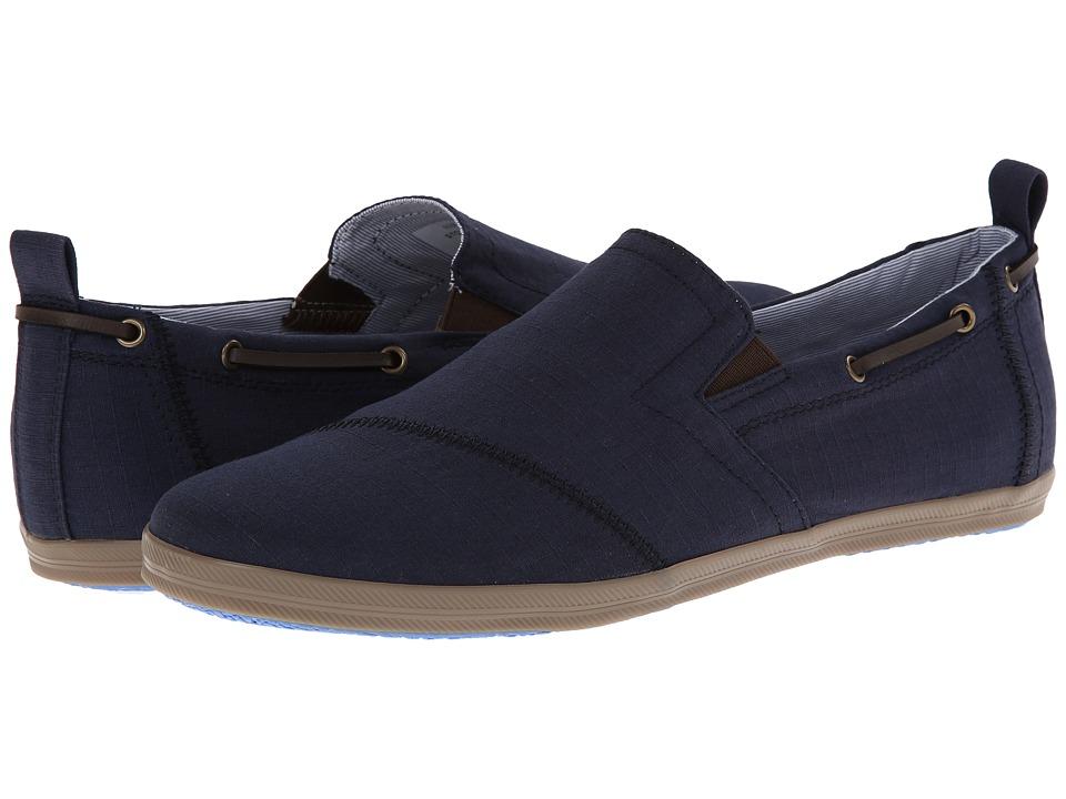 Antonio Zengara - Schooner (Navy) Men's Shoes