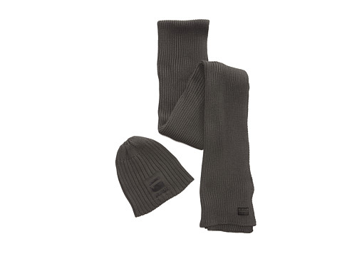 G-Star - Originals Gift Pack (Raw Grey) Scarves