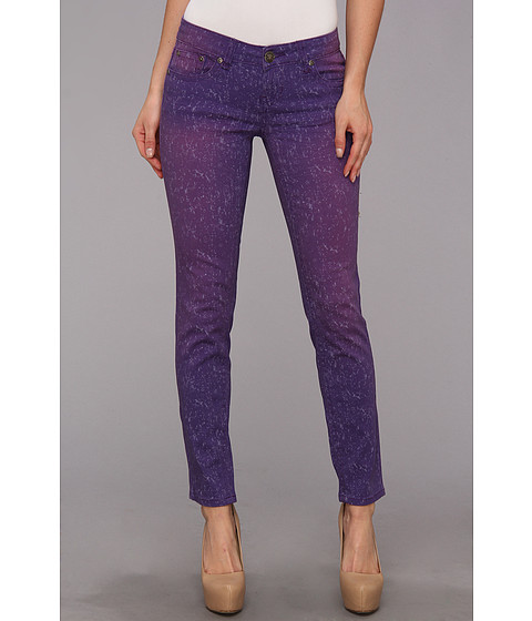 Request - Juniors Splatter Pants in Heliotrope (Heliotrope) - Apparel
