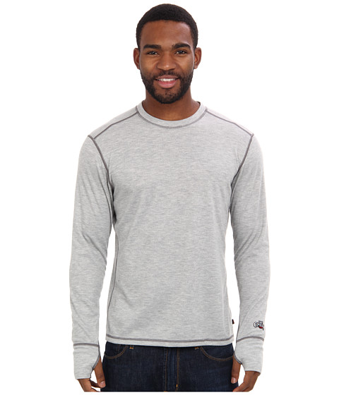 Hot Chillys - Geo Pro Crewneck (Natural) Men