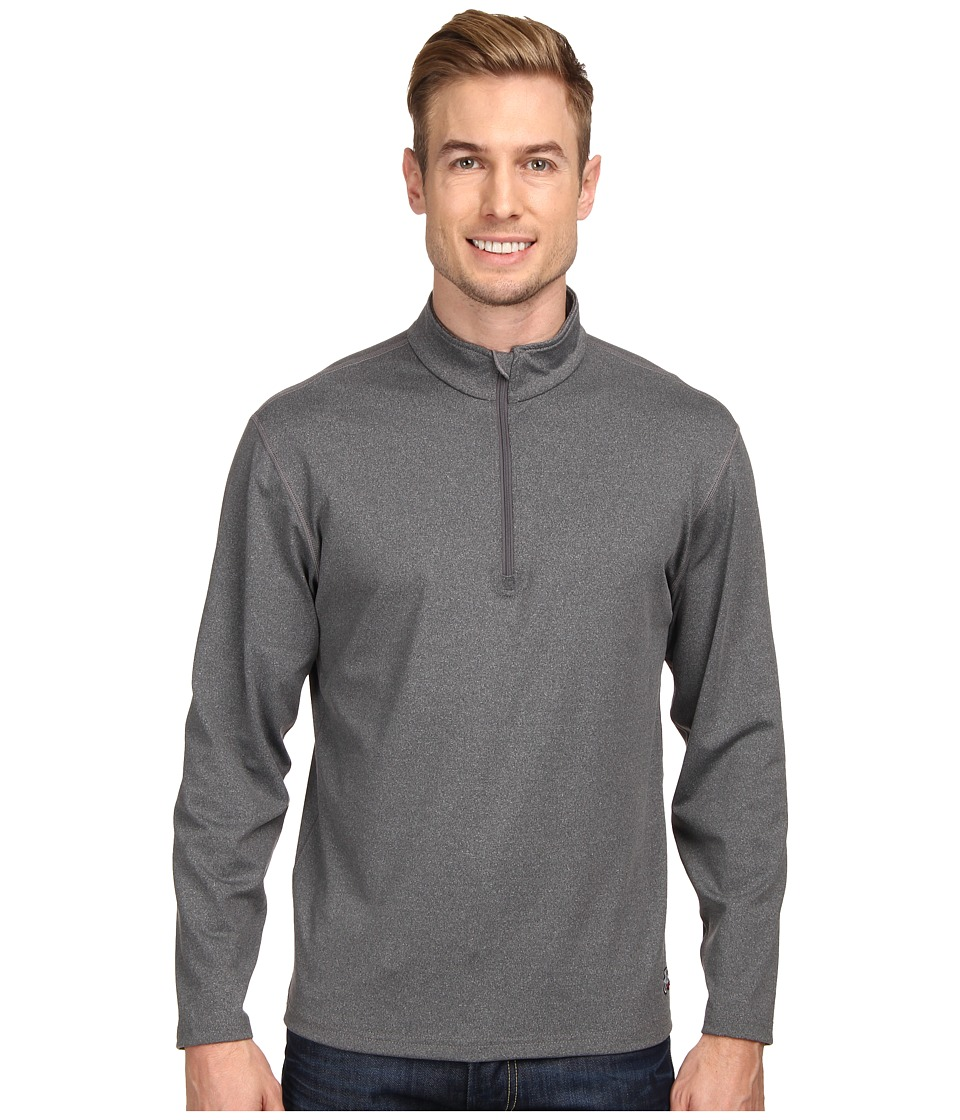 Hot Chillys - Micro-Elite Chamois 8K Zip-T (Granite) Men's T Shirt