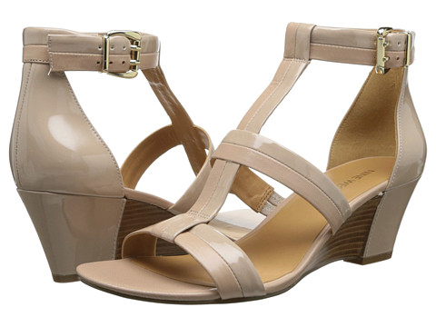 Nine West - Verydemi (Taupe/Light Natural Syntehtic) Women