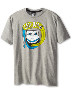 SALE! $8.99 - Save $7 on Volcom Kids Slimey Tongue S S Tee (Little Kids) (Heather Grey) Apparel - 43.81% OFF $16.00