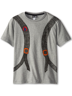 SALE! $10.99 - Save $11 on Volcom Kids Back Packin It S S Tee (Little Kids) (Heather Grey) Apparel - 50.05% OFF $22.00