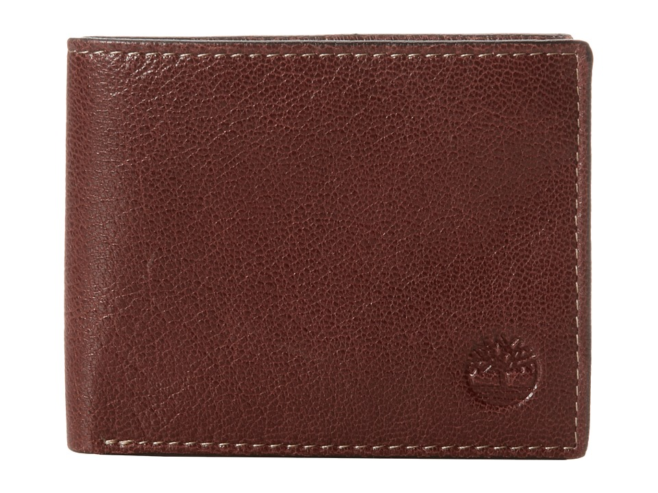Timberland - Fine Break Passcase (Brown) Wallet Handbags