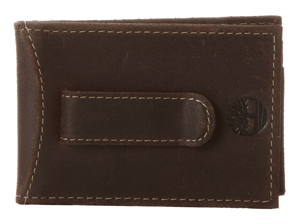 Timberland - Delta Flip Clip (Brown) Wallet Handbags