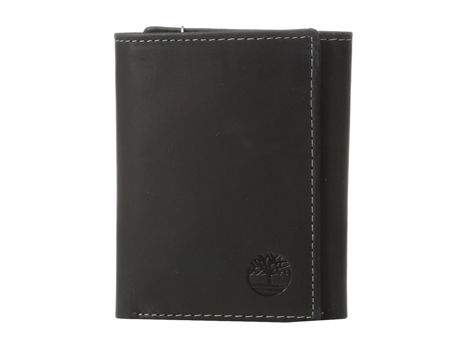 Timberland - Hunter Trifold (Black) Wallet Handbags