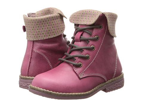 Kid Express - Braxton (Toddler/Little Kid/Big kid) (Raspberry Leather) Girls Shoes