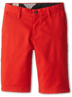 SALE! $17.99 - Save $27 on Volcom Kids Frickn Mod Short (Big Kids) (Chili Red) Apparel - 60.02% OFF $45.00