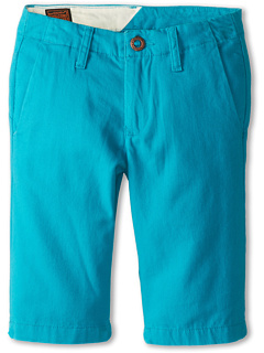 SALE! $17.5 - Save $18 on Volcom Kids Faceted Short (Big Kids) (Turquoise) Apparel - 50.00% OFF $35.00