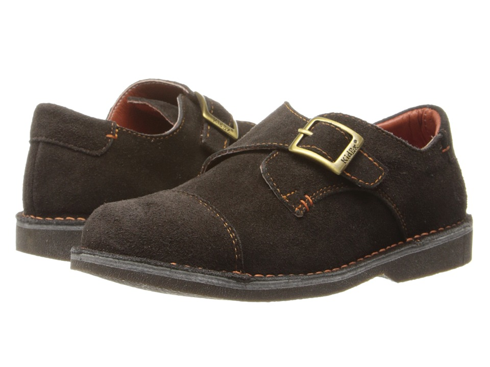 Kid Express - Marc (Toddler/Little Kid/Big Kid) (Dark Brown Suede) Boy's Shoes