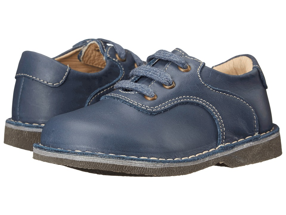 Kid Express - Ryan (Toddler/Little Kid/Big Kid) (Navy Leather) Boy's Shoes