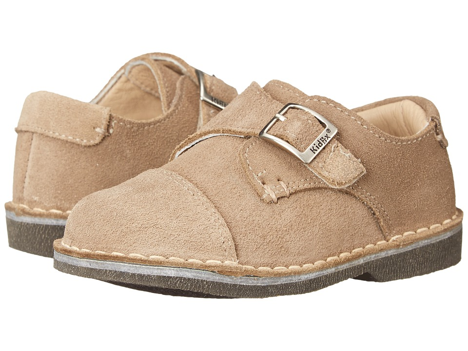 Kid Express - Marc (Toddler/Little Kid/Big Kid) (Tan Suede) Boy's Shoes