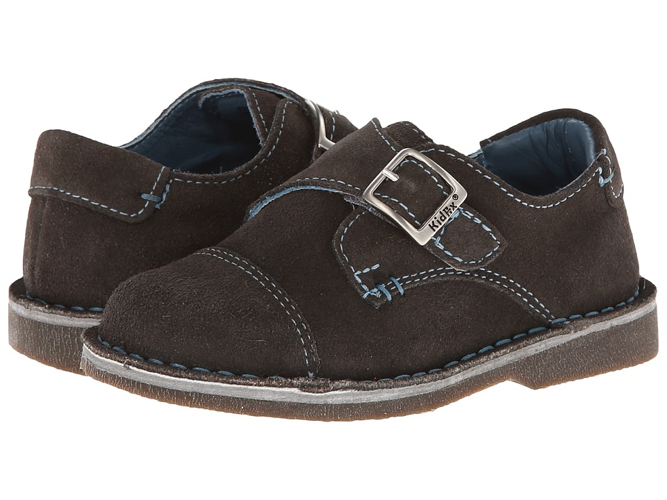 Kid Express - Marc (Toddler/Little Kid/Big Kid) (Gray Suede) Boy's Shoes