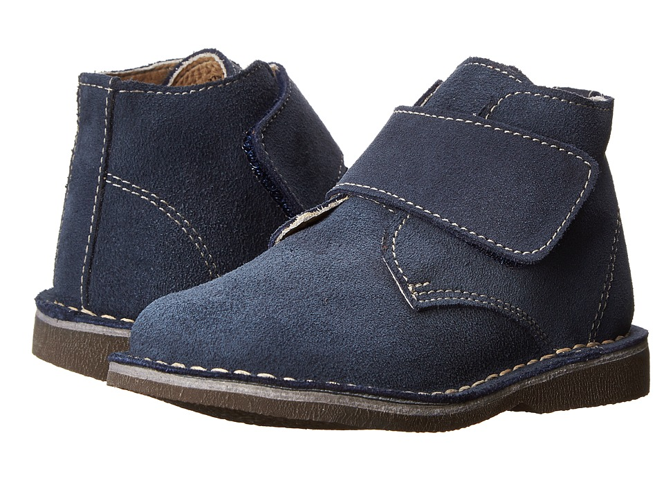 Kid Express - Maddox (Toddler/Little Kid/Big Kid) (Navy Suede) Boy's Shoes