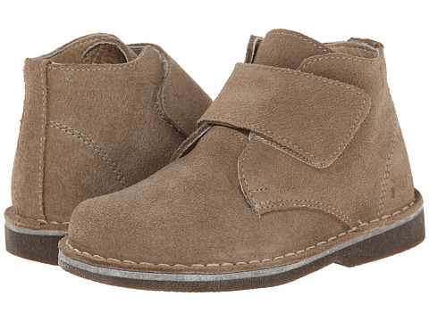 Kid Express - Maddox (Toddler/Little Kid/Big Kid) (Tan Suede) Boy's Shoes