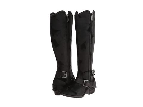 Donald J Pliner - Dela (Black Vintage Suede) Women's Zip Boots