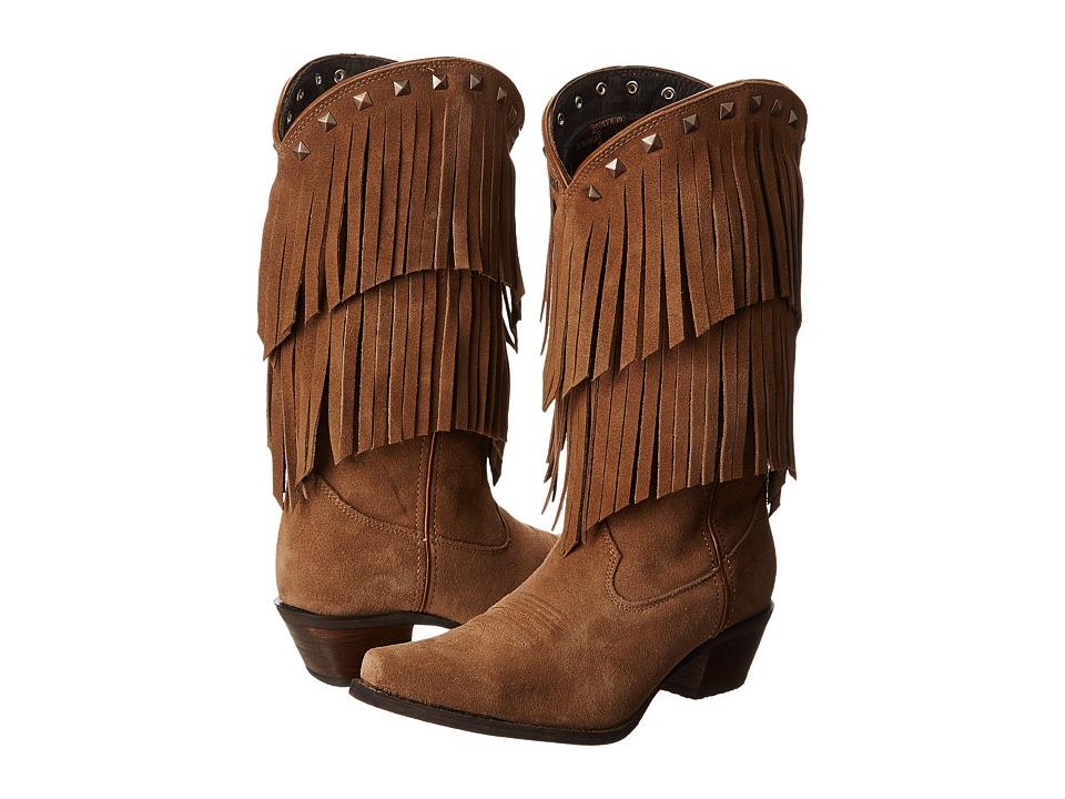 Durango Crush 12 Fringe (Desert) Cowboy Boots