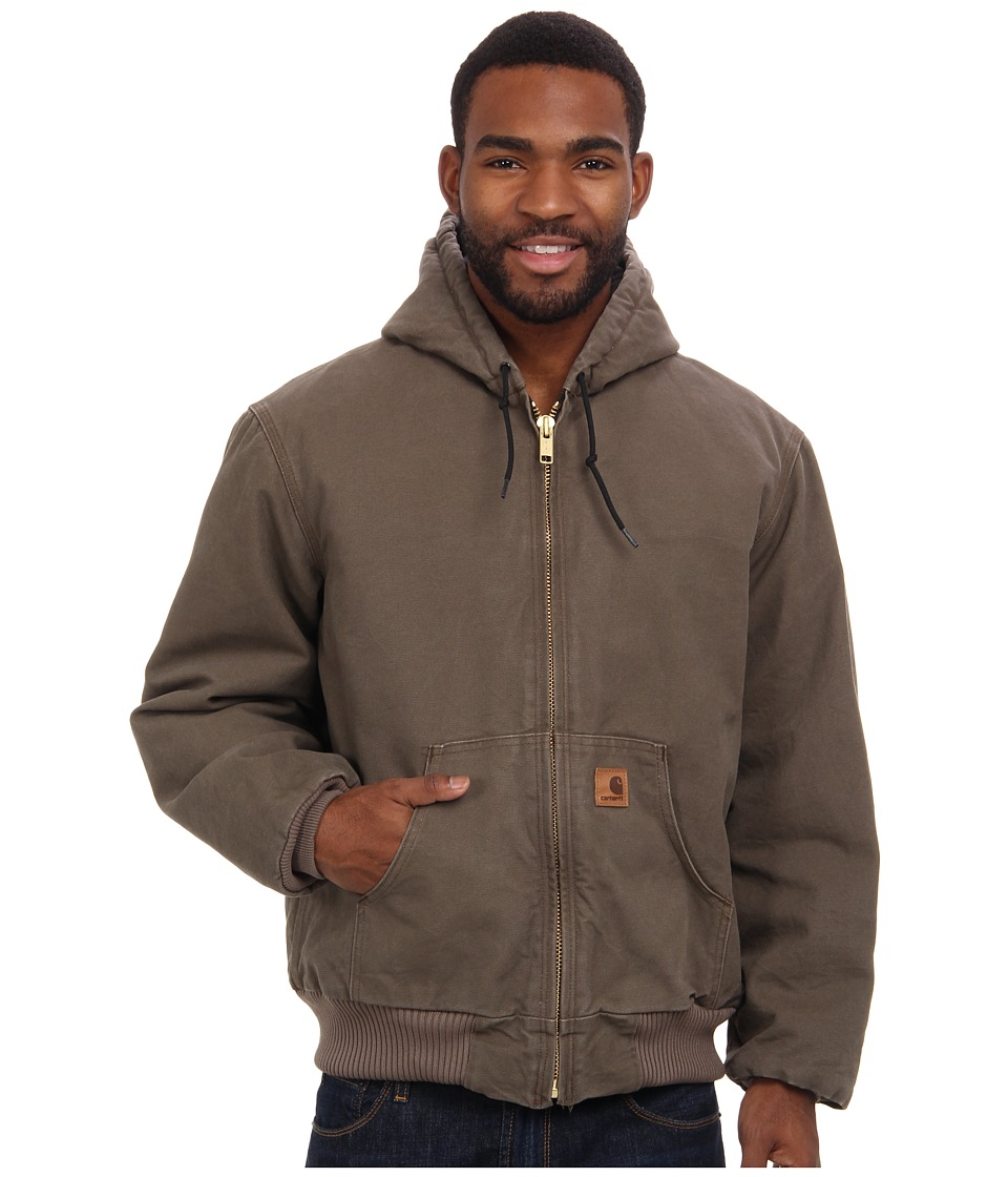 Carhartt - QFL Sandstone Active Jacket (Light Brown) Men's Coat