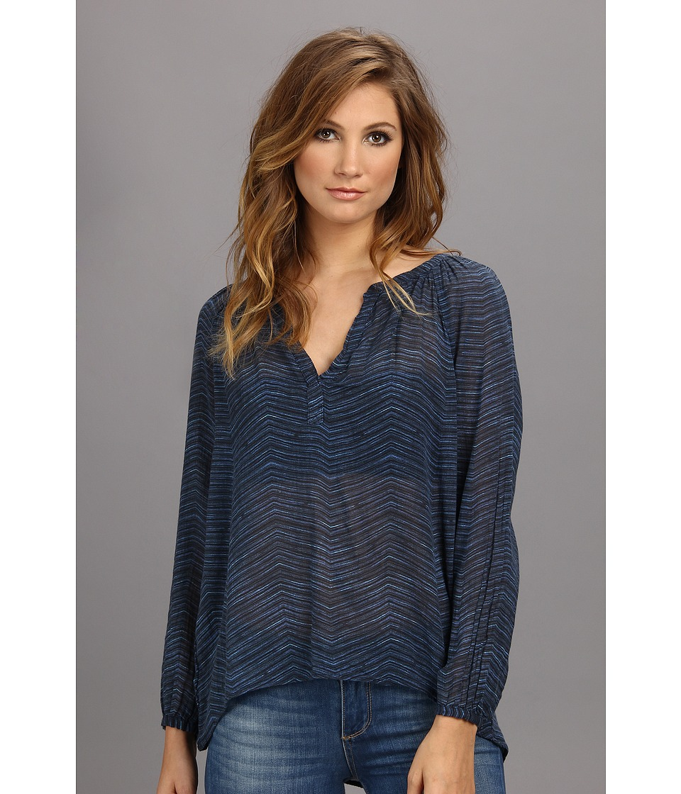 Graham and Spencer - MPT4082 L/S Peasant (Multi) Women