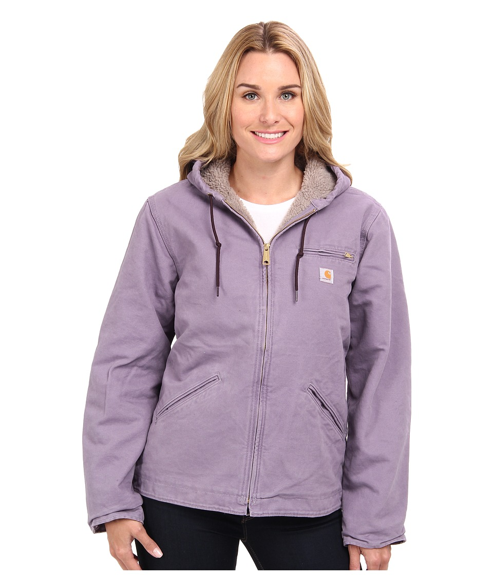 Carhartt - Sandstone Sierra Jacket (Purple Sage) Women's Jacket