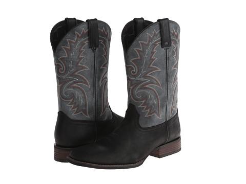 Durango Western 12 (Black/Graphite) Cowboy Boots