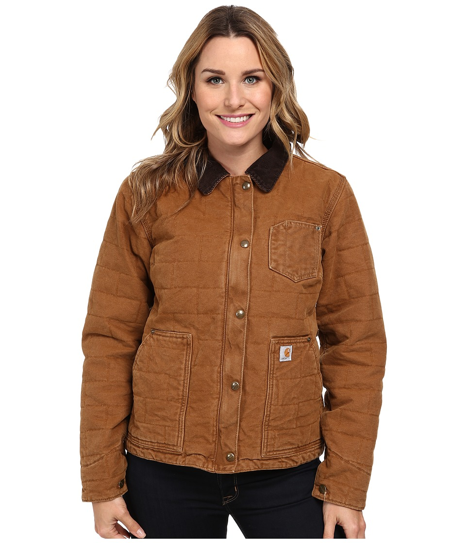 Carhartt - Sandstone Newhope Jacket (Carhartt Brown) Women's Jacket