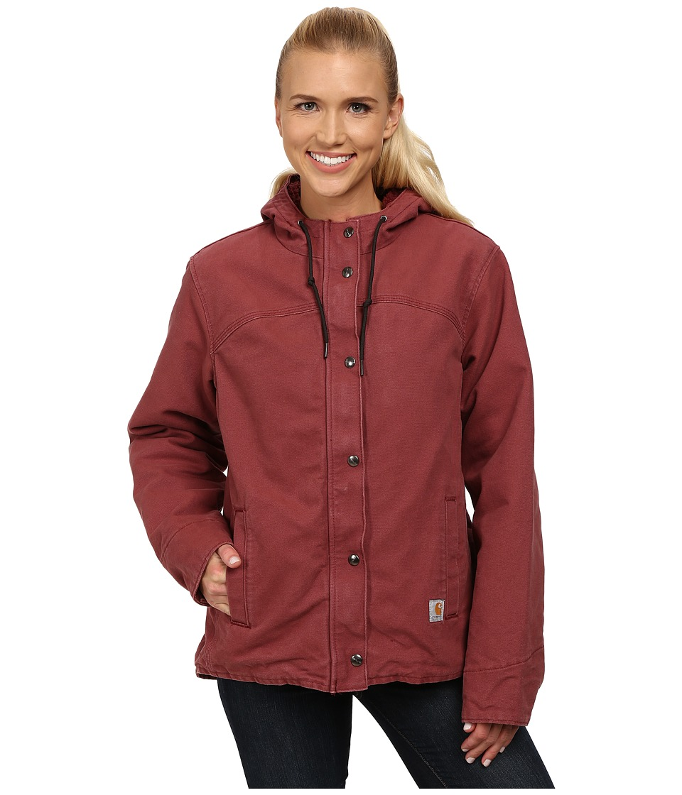 Carhartt - Sandstone Berkley Jacket (Cinnamon Red) Women's Jacket