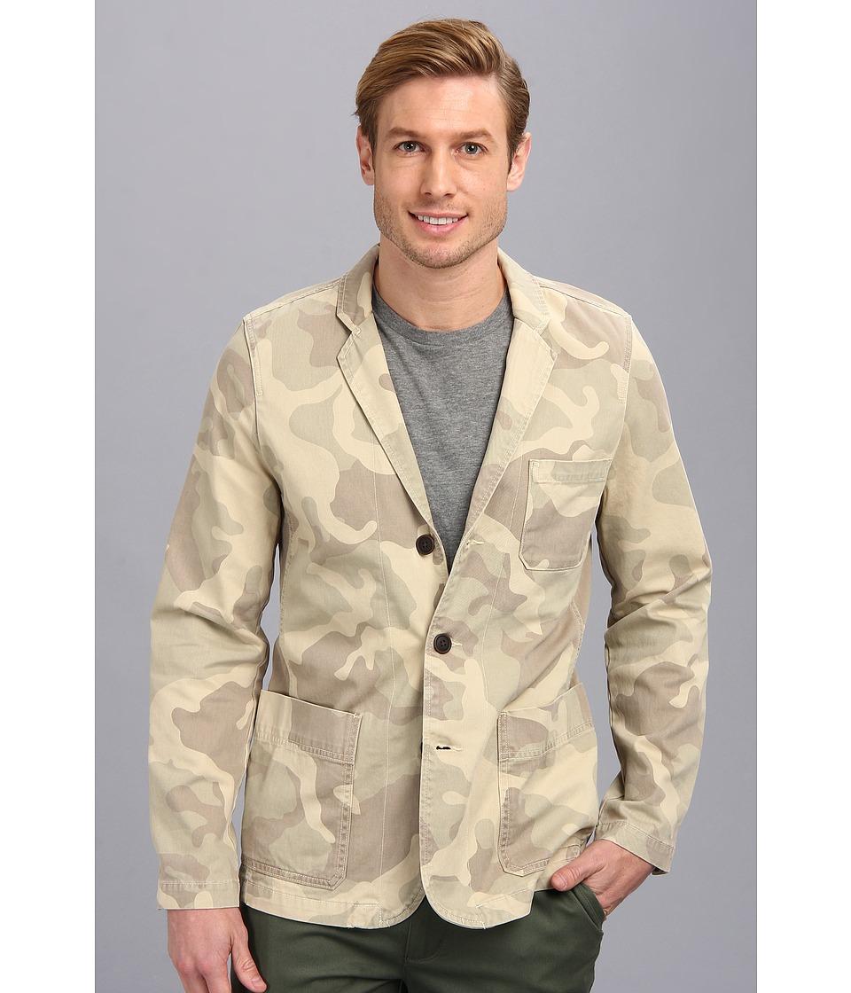 Lucky Brand Peyton Camo Blazer Mens Jacket (Multi)