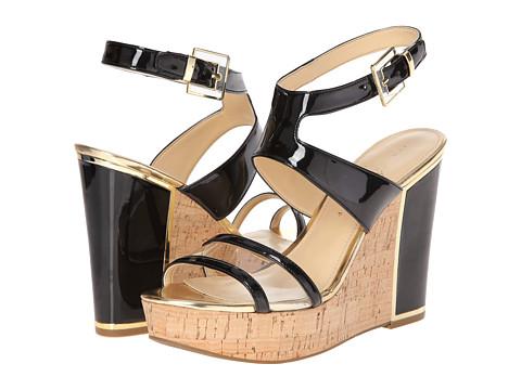 Ivanka Trump - Hagley 2 (Black/Clear) Women's Wedge Shoes