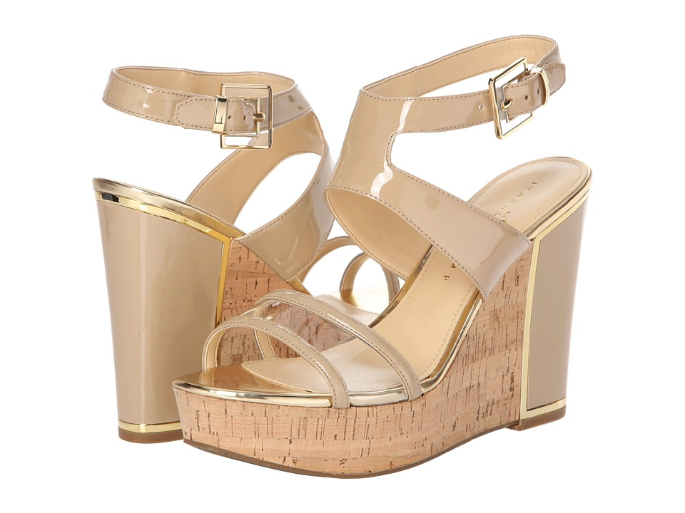 Ivanka Trump - Hagley 2 (IT Beige/Clear) Women's Wedge Shoes