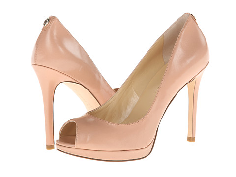 Ivanka Trump - Maggie (Rich Beige Leather) High Heels