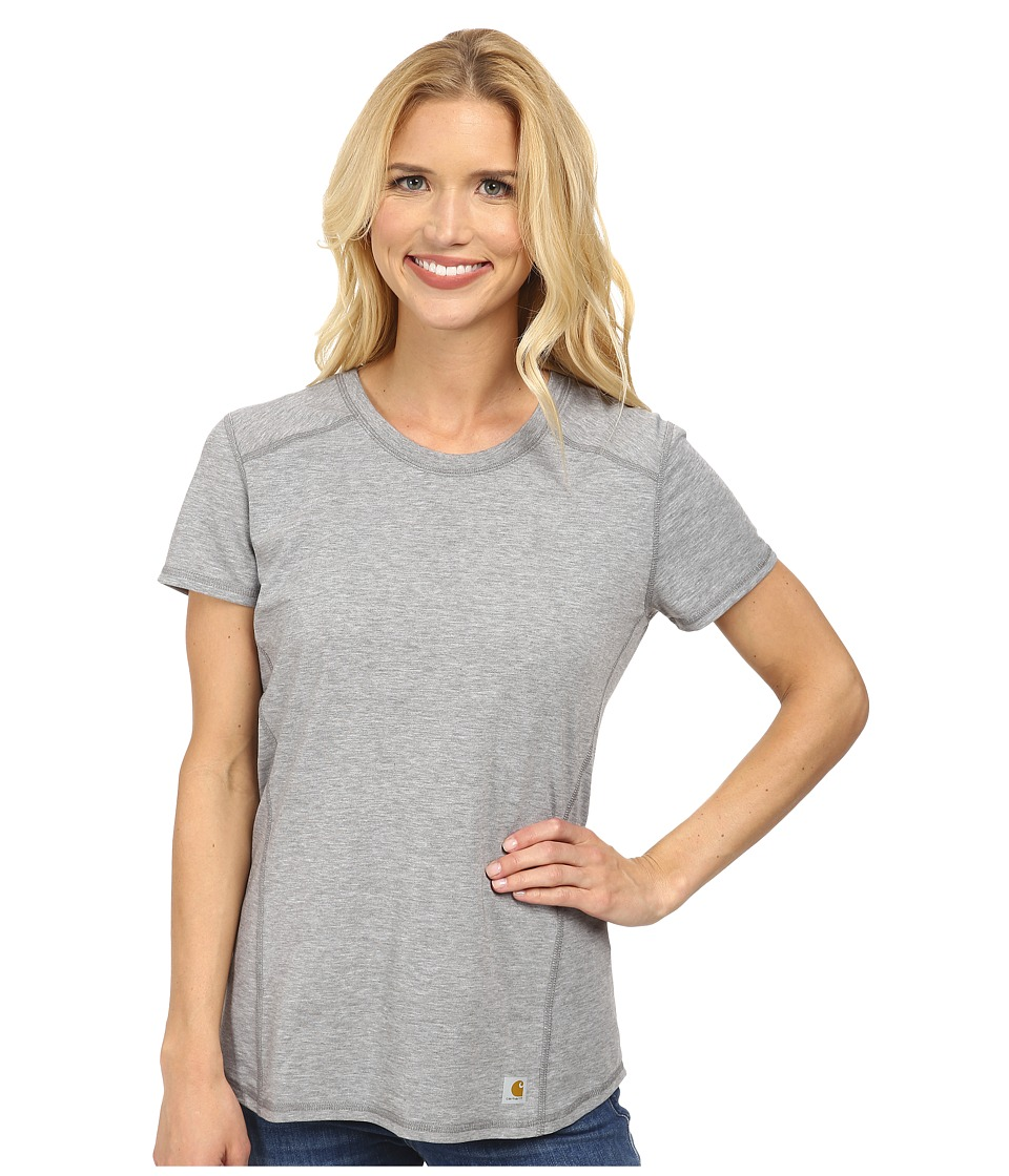 Carhartt - Force T-Shirt (Asphalt Heather) Women's T Shirt