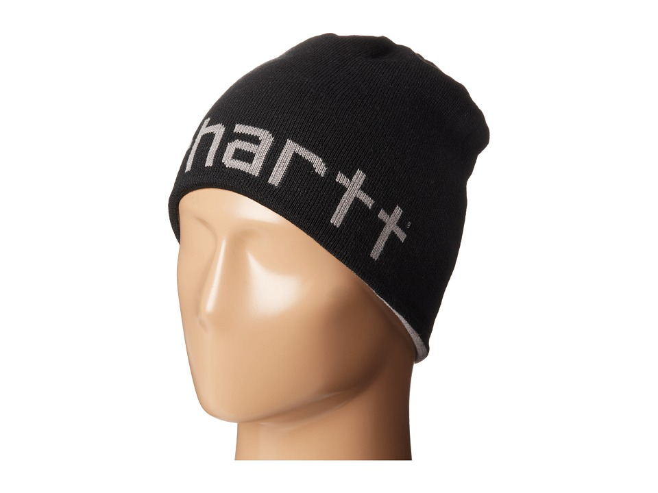 Carhartt - Greenfield Reversible Hat (Black) Knit Hats