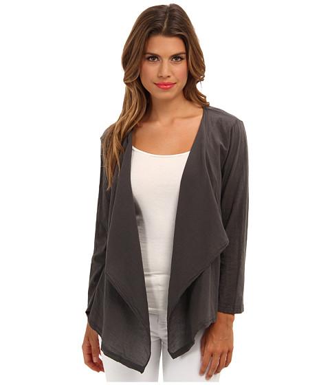 Velvet by Graham & Spencer - Carys02 3/4 Sleeve Cardigan (Hematite) Women's Sweater