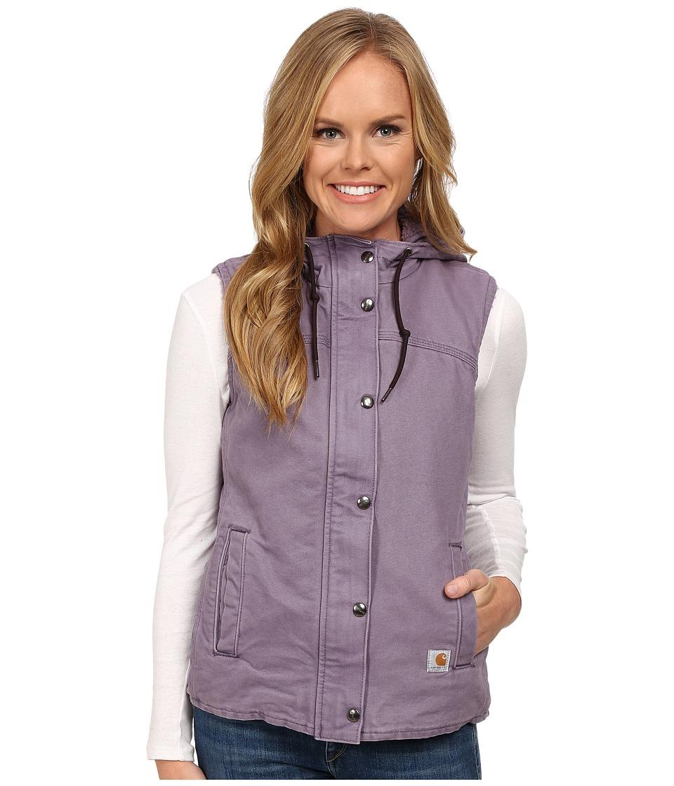 Carhartt - Sandstone Berkley Vest II (Purple Sage) Women's Vest