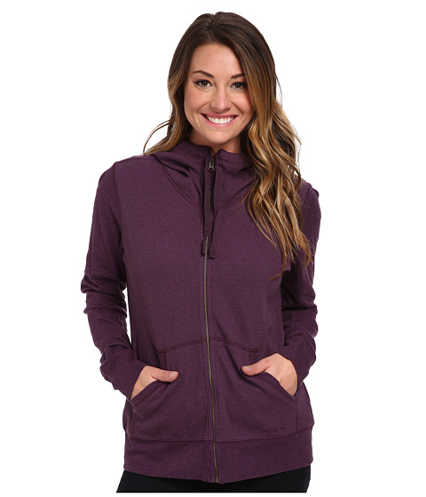 Carhartt - Hayward Zip Front Hoodie (Plum Heather) Women's Sweatshirt