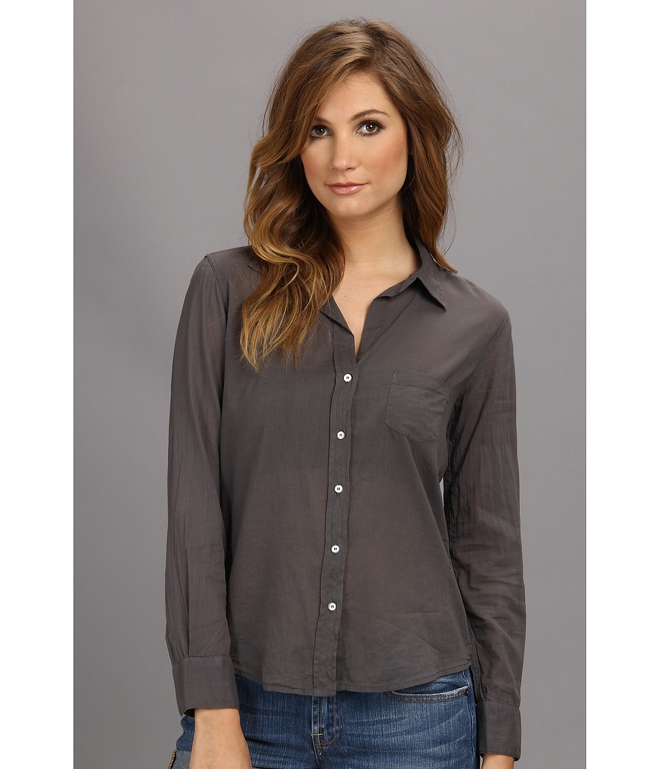 Velvet by Graham & Spencer - Thomasina02 L/S Button-Up (Tornado) Women's Long Sleeve Button Up