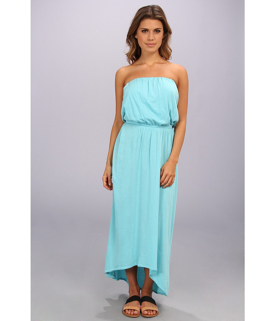 Velvet by Graham & Spencer - Jem02 Maxi Dress (Aqua) Women's Dress